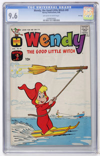 Wendy, the Good Little Witch #49 File Copy (Harvey, 1968) CGC NM+ 9.6 Off-white to white pages