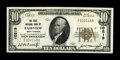 National Bank Notes:West Virginia, Fairview, WV - $10 1929 Ty. 1 The First NB Ch. # 10219. ThisExtremely Fine piece is one of the nicest known to beco...
