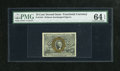 Fractional Currency:Second Issue, Fr. 1244 10c Second Issue PMG Choice Uncirculated 64 EPQ. Nice margins are visible on this nice piece that has an adequately...