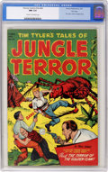 Golden Age (1938-1955):Adventure, Harvey Comics Hits #54 Tim Tyler's Tales of Jungle Terror - File Copy (Harvey, 1951) CGC NM 9.4 Cream to off-white pages....