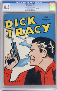 Four Color #34 Dick Tracy (Dell, 1944) CGC FN+ 6.5 Off-white to white pages