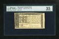 Colonial Notes:Maryland, Maryland April 10, 1774 $6 PMG Choice Very Fine 35. A bright andenormously margined example from this available Maryland is...