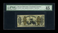 Fractional Currency:Third Issue, Fr. 1372 50c Third Issue Justice PMG Choice Extremely Fine 45 EPQ. A wonderfully margined example of this scarce Justice fib...