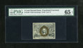 Fractional Currency:Second Issue, Fr. 1234 5c Second Issue PMG Gem Uncirculated 65 EPQ. A reflective bronze overprint and distinct surcharges are traits of th...