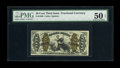Fractional Currency:Third Issue, Fr. 1366 50c Third Issue Justice PMG About Uncirculated 50 EPQ. A lovely note with bright colors of the paper, inks and bron...