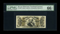 Fractional Currency:Third Issue, Fr. 1329 50c Third Issue Spinner PMG Gem Uncirculated 66 EPQ. Beautiful face margins, ideal color, bright bronze and incred...