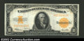 Large Size:Gold Certificates, 1922 $10 Gold Certificate, Fr-1173, Choice CU. A boldly ...