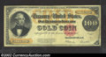 Large Size:Gold Certificates, 1922 $100 Gold Certificate, Fr-1215, Fine-VF. Nicely centered ...