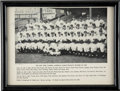 Autographs:Photos, Whitey Ford Signed 1950 New York Yankees Team Photograph. This teamphotograph was apparently produced before the 1950 Worl...