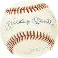Autographs:Baseballs, 500 Home Run Club Baseball Signed by 11. Eleven members of baseball's illustrious 500 Home Run Club, with the legendary Mic...