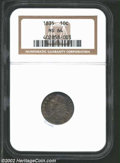 Bust Dimes: , 1835 10C MS64 NGC. ...
