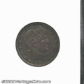 Proof Barber Quarters: , 1905 25C PR61 ANACS. The obverse has deep apple-green and ...