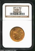 Indian Eagles: , 1912-S $10 AU50 NGC. The current Coin Dealer Newsletter (...