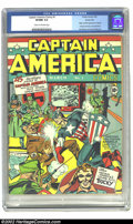 Golden Age (1938-1955):Superhero, Captain America Comics #1 Kansas City pedigree (Timely, 1941) CGCVF/NM 9.0 Cream to off-white pages. Heritage Comics is pro...