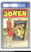 Golden Age (1938-1955):Humor, Joker Comics #24 Mile High pedigree (Timely, 1946) CGC NM+ 9.6 White pages. This fantastic example of a Timely has tremendou...