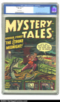 Golden Age (1938-1955):Horror, Mystery Tales #1 (Atlas, 1952) CGC VF 8.0 Off-white pages. From theearly- to mid-1950s, this cover's creator, Joe Maneely, ...