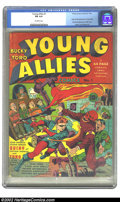 Golden Age (1938-1955):Superhero, Young Allies Comics #1 (Timely, 1941) CGC FN 6.0 Off-white pages. This comic is as classic as they come. The fact that it is...