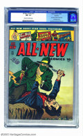 Golden Age (1938-1955):Adventure, All-New Comics #13 Rockford pedigree (Harvey, 1946) CGC NM- 9.2 Cream to off-white pages. Two of Harvey's most popular featu...