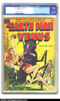 Golden Age (1938-1955):Science Fiction, An Earth Man on Venus #nn (Avon, 1951) CGC VF- 7.5 Off-white towhite pages. Fawcette created another wondrous cover for thi...