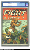 Golden Age (1938-1955):War, Fight Comics #26 Pennsylvania pedigree (Fiction House, 1943) CGCNM- 9.2 Off-white to white pages. Zolnerowich was always we...