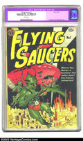 Golden Age (1938-1955):Science Fiction, Flying Saucers #1 (Avon, 1950) CGC Apparent VG+ 4.5 Slight (A)White pages. The appearance from the front cover of this copy...