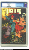 Golden Age (1938-1955):Science Fiction, Ibis #3 (Fawcett, 1943) CGC VF/NM 9.0 Cream pages. If you don't winthe Mile High copy we're offering, there's still hope fo...