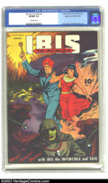 Golden Age (1938-1955):Science Fiction, Ibis #3 Mile High pedigree (Fawcett, 1943) CGC VF/NM 9.0 Off-whitepages. Mac Raboy creates a mind-numbing cover in his sign...