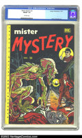 Golden Age (1938-1955):Horror, Mister Mystery #2 (Aragon Magazines, Inc., 1951) CGC FN/VF 7.0Off-white pages. Ross Andru and Mike Esposito tried their han...