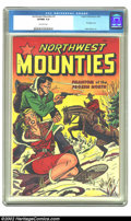 Golden Age (1938-1955):Adventure, Northwest Mounties #3 (St. John, 1949) CGC VF/NM 9.0 Off-white pages. This esoteric book has many things going for it, inclu...