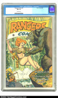 Golden Age (1938-1955):Horror, Rangers Comics #41 (Fiction House, 1948) CGC NM 9.4 Off-whitepages. This copy currently stands alone in CGC's census for is...