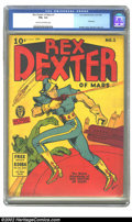 Golden Age (1938-1955):Science Fiction, Rex Dexter of Mars #1 (Fox Features Syndicate, 1940) CGC FN+ 6.5Cream to off-white pages. Here's a series that is easy to c...