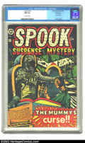 Golden Age (1938-1955):Horror, Spook #24 Bethlehem pedigree (Star Publications, 1953) CGC NM 9.4 Off-white pages. We've never had a copy of Spook #24 t...