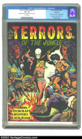 Golden Age (1938-1955):Horror, Terrors of the Jungle #17 (#1) Northford pedigree (Star, 1952) CGCVF- 7.5 Cream pages. This may well be the most undervalue...