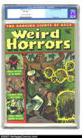 Golden Age (1938-1955):Horror, Weird Horrors #2 (St. John, 1952) CGC VF 8.0 Off-white to whitepages. St. John made great use of ghastly shades of green on...