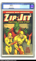 Zip-Jet #1 (St. John, 1953) CGC VF/NM 9.0 Cream to off-white pages. Esoteric is the word that instantly comes to mind wh...
