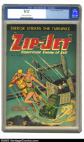 Golden Age (1938-1955):Superhero, Zip-Jet #2 (St. John, 1953) CGC VF 8.0 Cream to off-white pages. Here is the second and last issue of this short-lived serie...