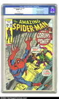 Bronze Age (1970-1979):Superhero, The Amazing Spider-Man #98 (Marvel, 1971) CGC NM/MT 9.8 Whitepages. This copy has been given the highest CGC grade to date....