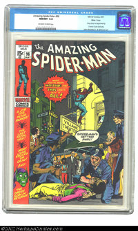 The Amazing Spider-Man #96 Massachusetts pedigree (Marvel, 1971) CGC NM/MT 9.8 Off-white to white pages. That the Comics...