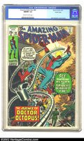 Bronze Age (1970-1979):Superhero, The Amazing Spider-Man #88 Pacific Coast pedigree (Marvel, 1970) CGC NM/MT 9.8 Off-white to white pages. This is the highest...