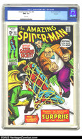 Bronze Age (1970-1979):Superhero, The Amazing Spider-Man #85 Oakland pedigree (Marvel, 1970) CGC NM+ 9.6 White pages. This copy has been given the highest CGC...