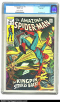 Bronze Age (1970-1979):Superhero, The Amazing Spider-Man #84 Massachusetts pedigree (Marvel, 1970)CGC NM/MT 9.8 Off-white to white pages. A rainbow of colors...