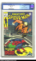 Bronze Age (1970-1979):Superhero, The Amazing Spider-Man #81 Oakland pedigree (Marvel, 1970) CGC NM+9.6 White pages. This copy has been given the highest CGC...