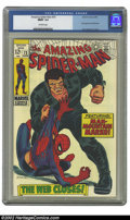 Silver Age (1956-1969):Superhero, The Amazing Spider-Man #73 (Marvel, 1969) CGC MINT 9.9 Off-whitepages. Very few pre-1970s comics are given the exalted grad...