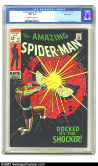 The Amazing Spider-Man #72 Pacific Coast pedigree (Marvel, 1969) CGC NM+ 9.6 Off-white to white pages. This copy is from...