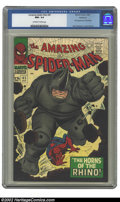 Silver Age (1956-1969):Superhero, The Amazing Spider-Man #41 Northland pedigree (Marvel, 1966) CGCNM+ 9.6 Off-white to white pages. This is a classic cover o...