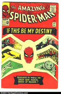 """The Amazing Spider-Man Silver Age Group Lot (Marvel, 1964). Here is an """"amazing"""" set of The Amazing Spider-Man..."""