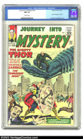 Silver Age (1956-1969):Science Fiction, Journey into Mystery #101 (Marvel, 1964) CGC NM 9.4 Off-white pages. Here is a book that just does not exist in this conditi...