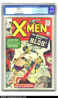 Silver Age (1956-1969):Superhero, X-Men #7 (Marvel, 1964) CGC NM 9.4 Off-white to white pages. Magneto, the Blob, and the rest of the Brotherhood of Evil Muta...