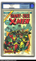 Bronze Age (1970-1979):Superhero, Giant-Size X-Men #1 (Marvel, 1975) CGC NM+ 9.6 Off-white pages.First of all, this is generally recognized as the most impor...