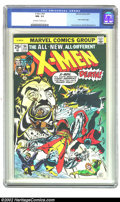 Bronze Age (1970-1979):Superhero, X-Men #94 (Marvel, 1975) CGC NM- 9.2 Off-white to white pages. Thisis a vibrantly colored copy of one of the most desirable...